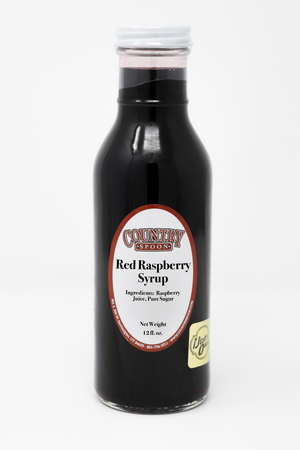 Red Raspberry Syrup -12 oz