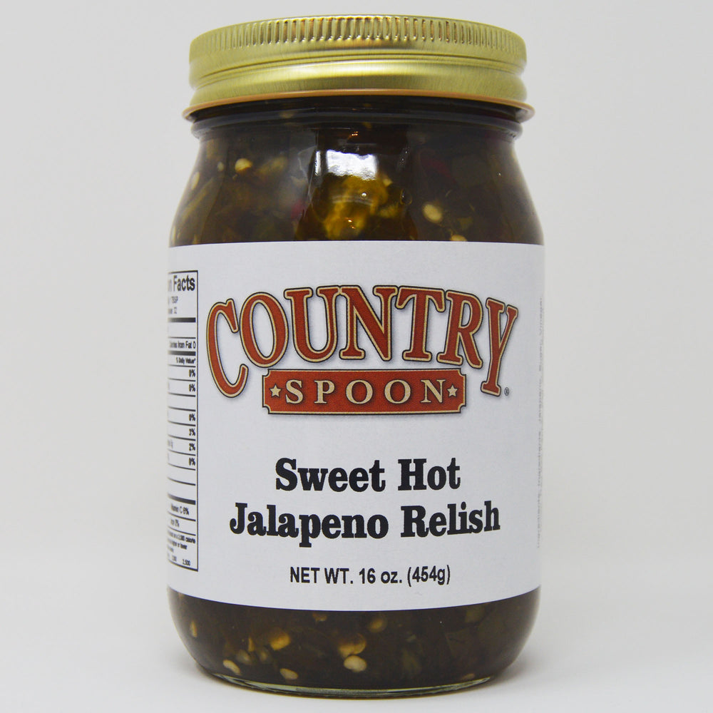Sweet Hot Jalapeno Relish