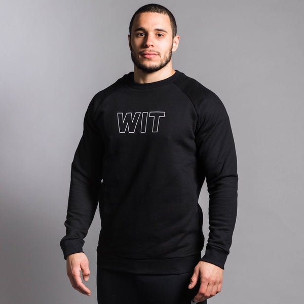 WIT Outline Logo Sweatshirt (Unisex)