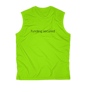 """Funding Secured"" Men's Athletic Performance Tee - Save Elon"