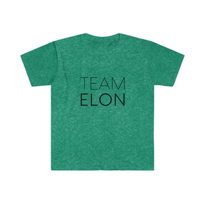 """Team Elon"" Men's Fitted Short Sleeve Tee - Save Elon"