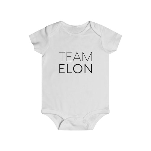 Infant Rip Snap Tee - Save Elon