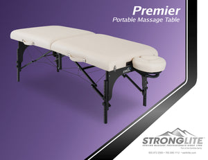 "Stronglite - Premier Portable Massage Table Package 31"" - Superb Massage Tables"