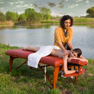 "Master Massage - Santana Portable Massage Table Package 31"" - Superb Massage Tables"