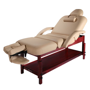 Master Massage - Claudia Pneumatic Tilt Salon Spa Massage Table - Superb Massage Tables