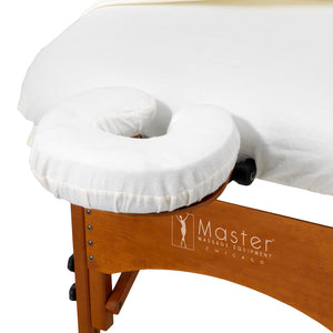 Master Massage - Face Pillow Covers 6 Pack Universal Fit - Superb Massage Tables