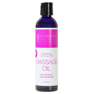 Master Massage - Soothing Aromatherapy Massage Oil 8oz Bottles - Superb Massage Tables
