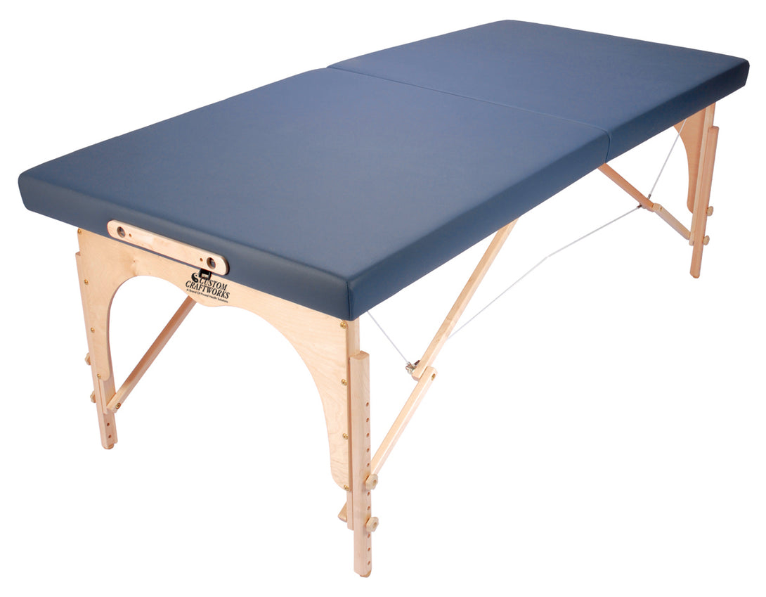 Custom Craftworks - Alexander Technique Portable Massage Table - Superb Massage Tables