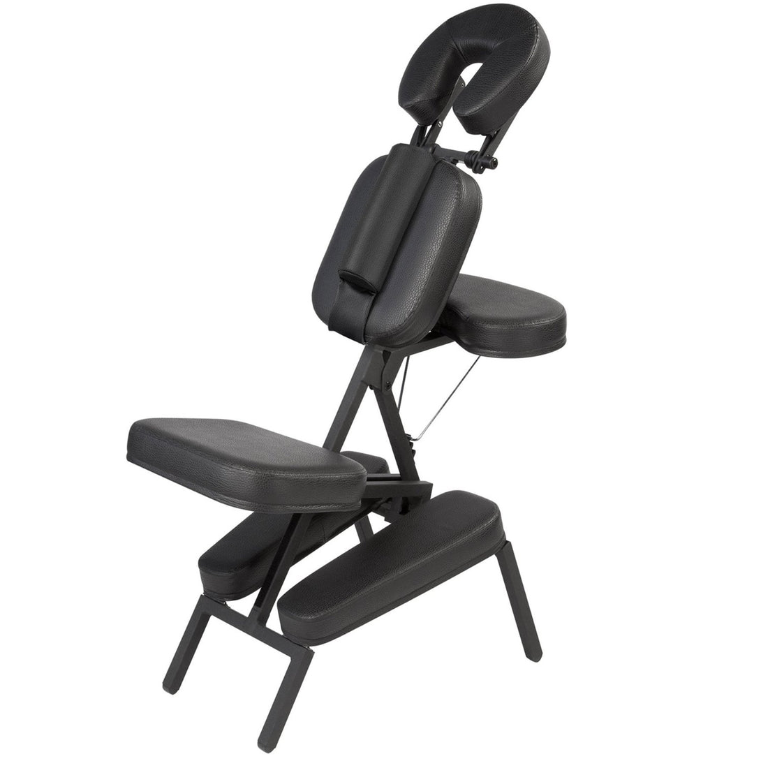 Master Massage - The Husky Apollo Portable Massage Chair with Wheeled Case - Superb Massage Tables