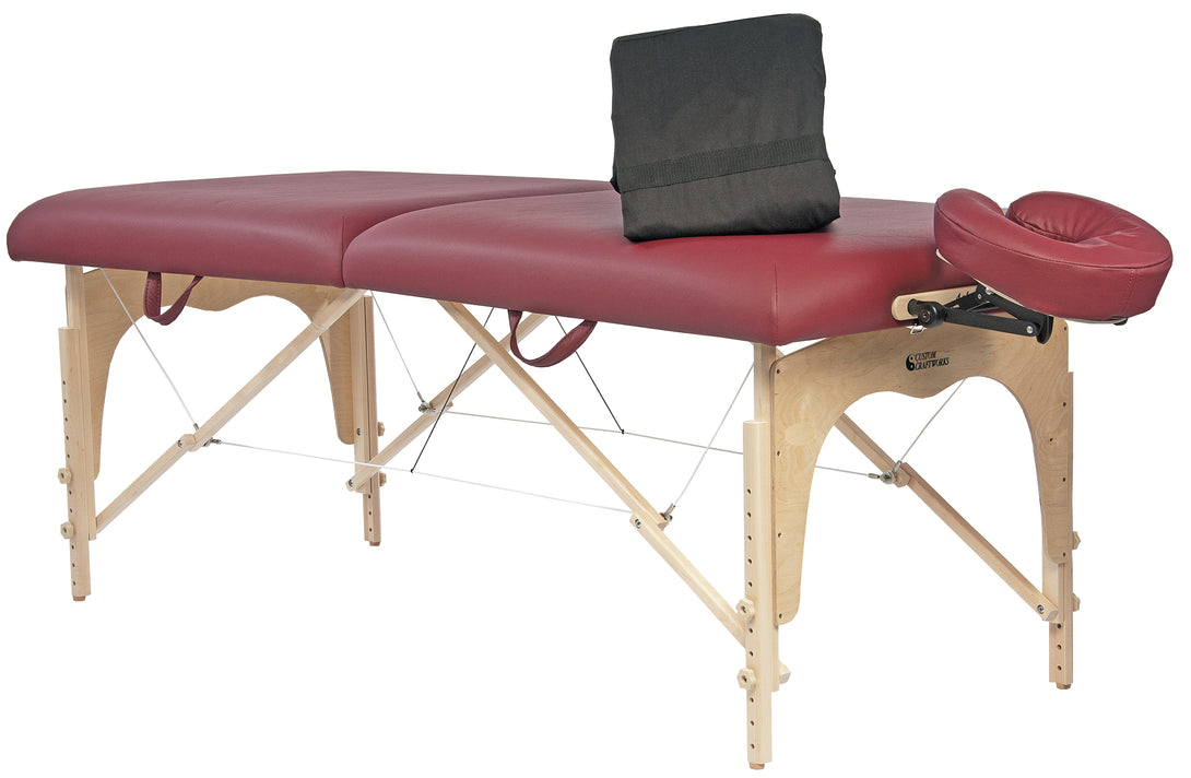 Custom Craftworks - Athena Portable Massage Table Essential Package - Superb Massage Tables