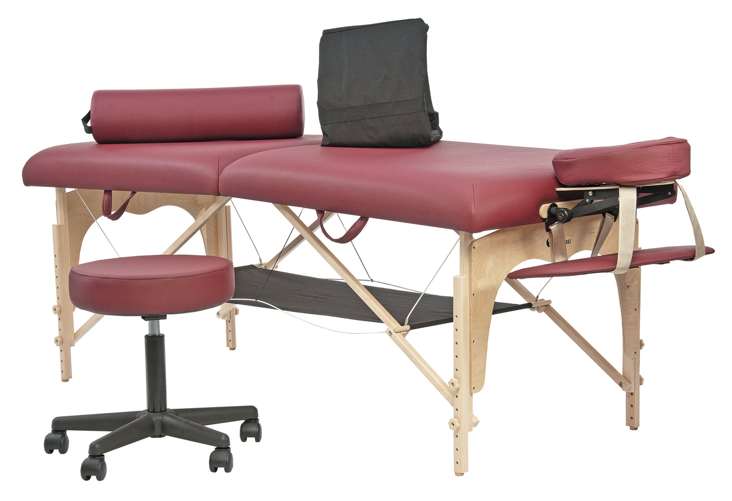 Custom Craftworks - Athena Portable Massage Table Professional Package - Superb Massage Tables