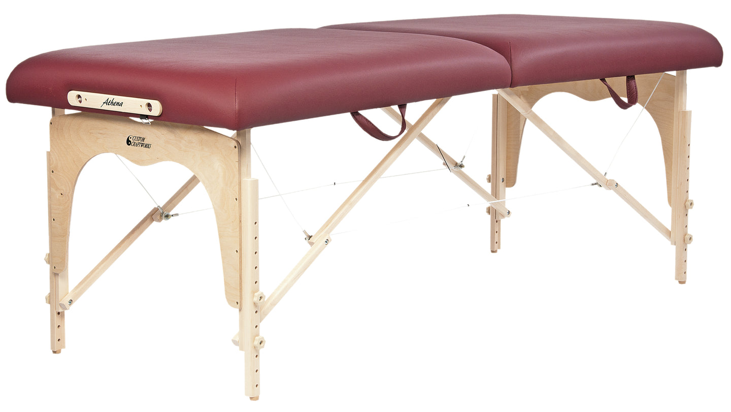 Custom Craftworks - Athena Portable Massage Table - Superb Massage Tables