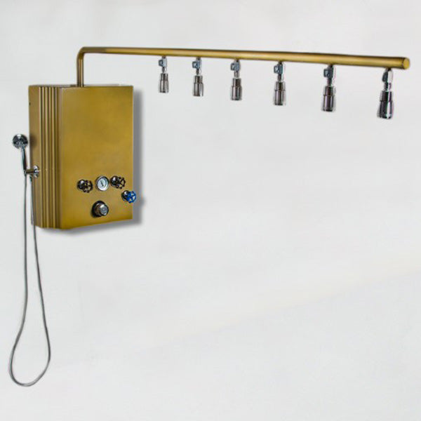 Water Werks - Brass Monkey Vichy Hydrotherapy Shower with Cold Plunge - Superb Massage Tables