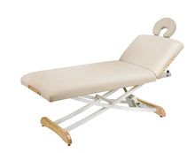 Custom Craftworks - Lift Back Elegance Massage Table - Superb Massage Tables