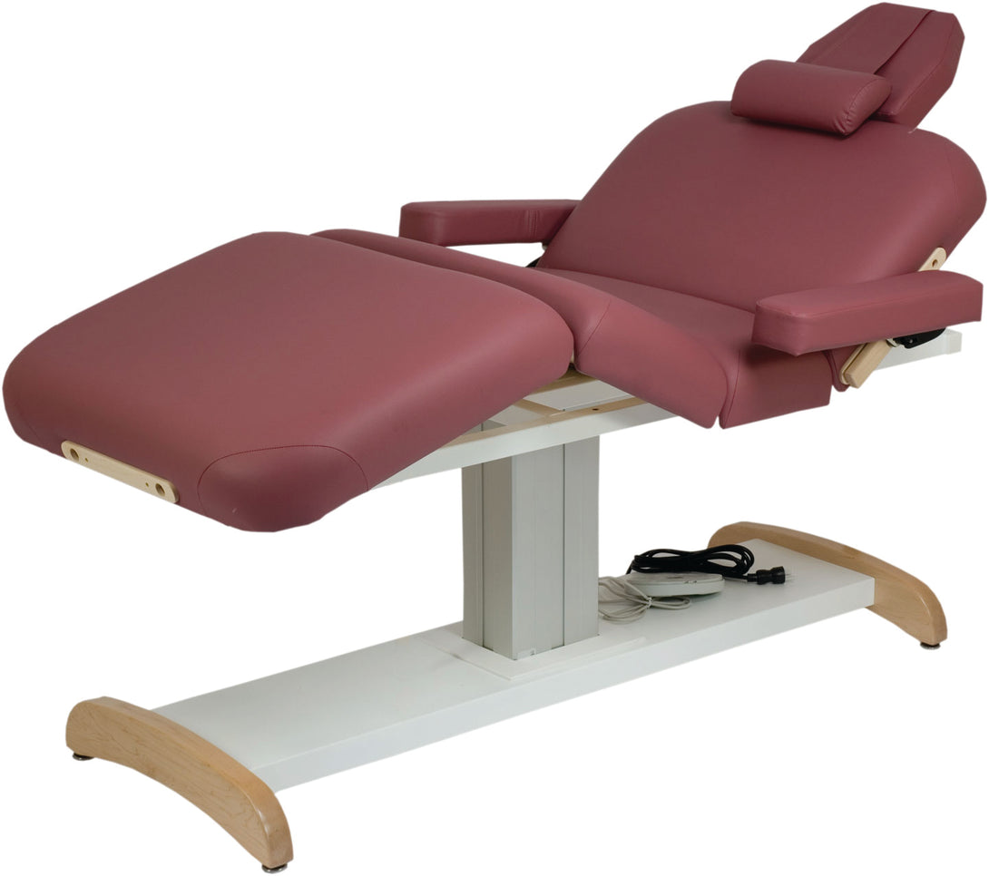 Custom Craftworks - Majestic Deluxe Electric Lift Massage Table - Superb Massage Tables