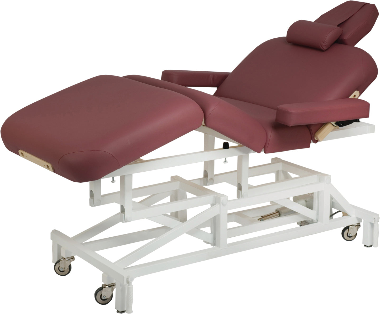 Custom Craftworks - McKenzie Deluxe Electric Lift Massage Table - Superb Massage Tables