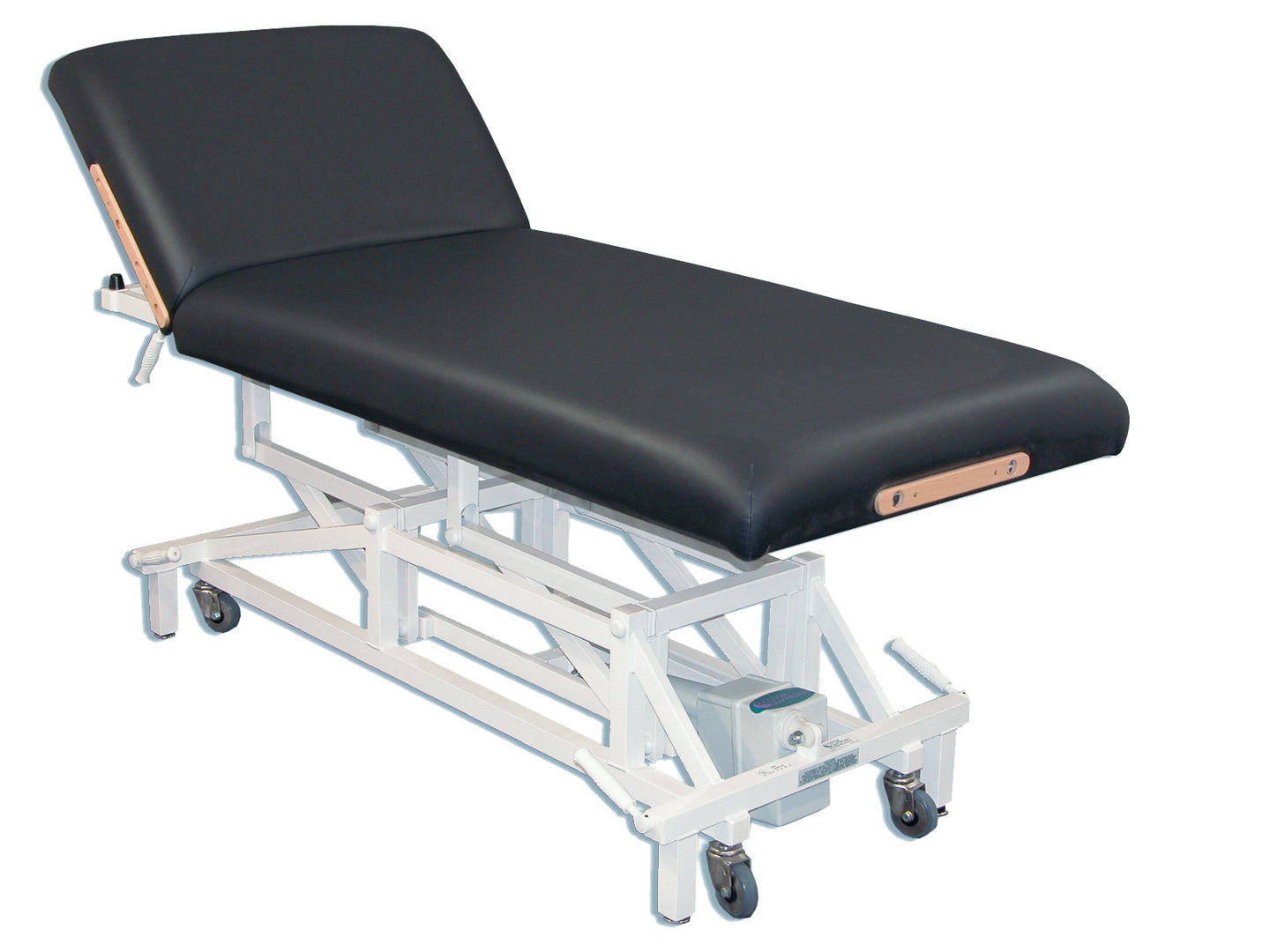 Custom Craftworks - McKenzie Lift Back Electric Lift Massage Table - Superb Massage Tables