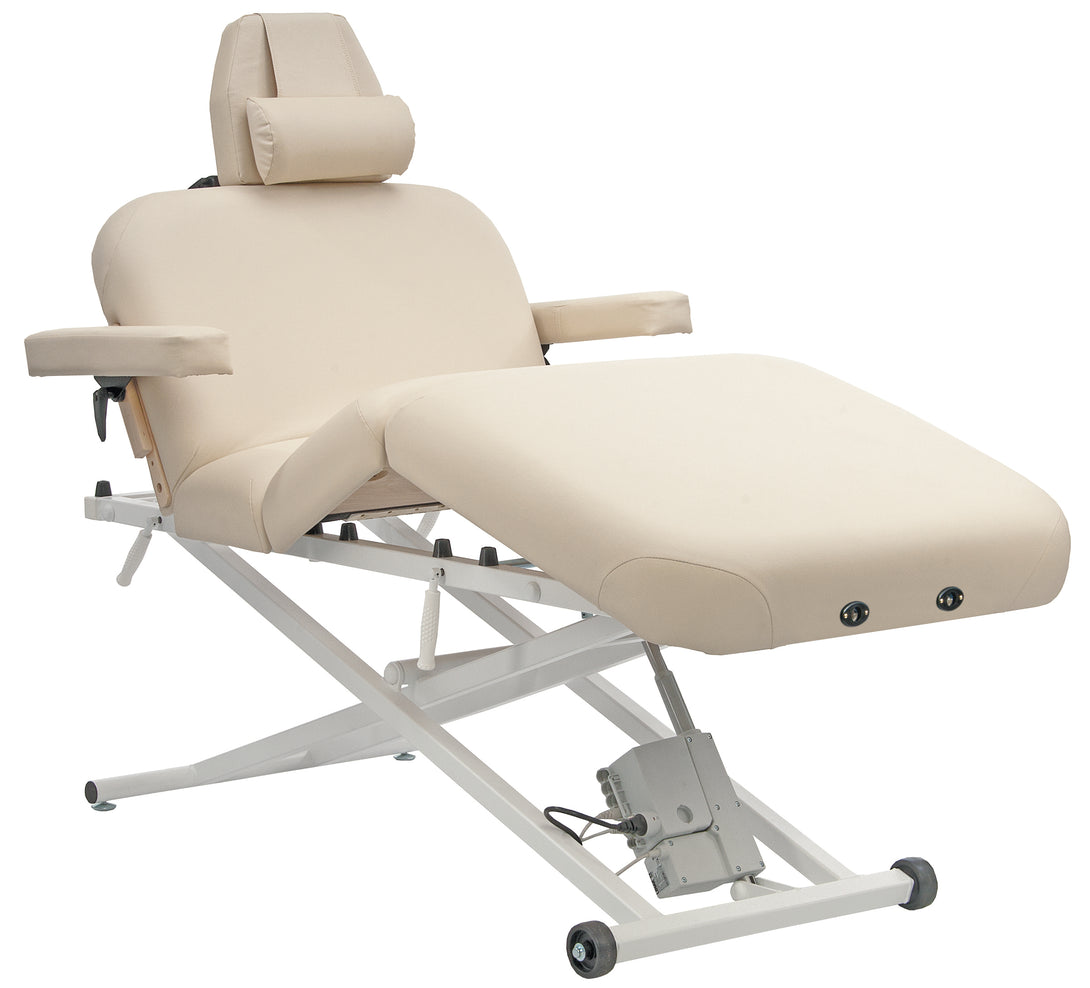 Custom Craftworks - Deluxe Pro Electric Lift Massage Table - Superb Massage Tables