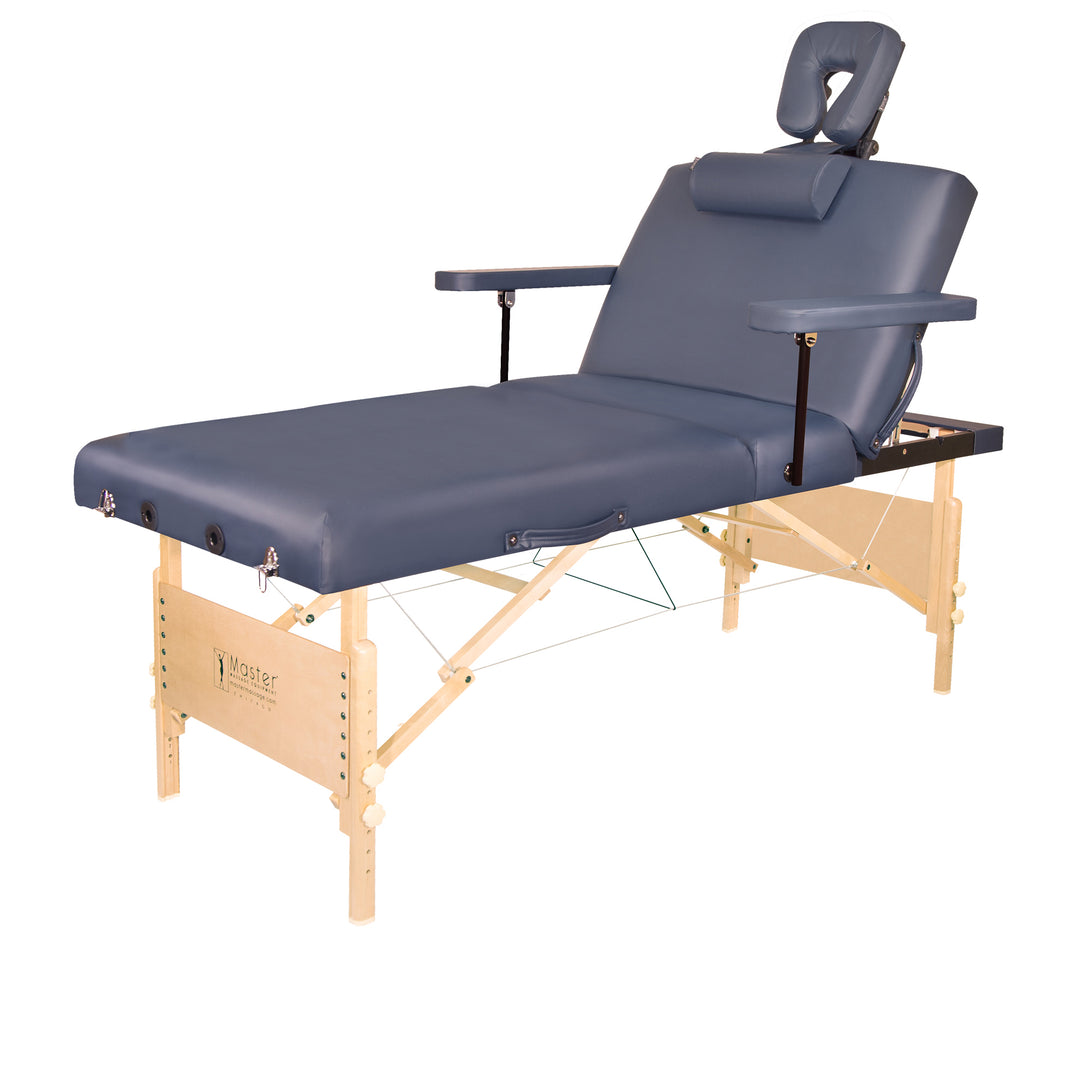 Master Massage - Coronado Extra Wide Portable Salon Therma-Top Massage Table Package 31