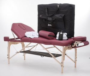 Custom Craftworks - Destiny Lift-Back Practice Essentials Massage Table Kit - Superb Massage Tables
