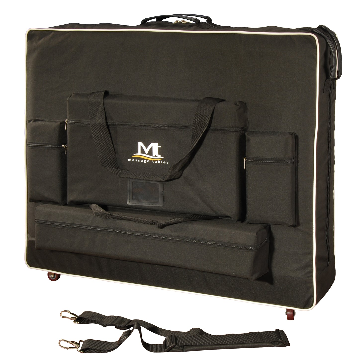 MT Massage - Deluxe Carrying Case for Massage Table with Wheels - Superb Massage Tables