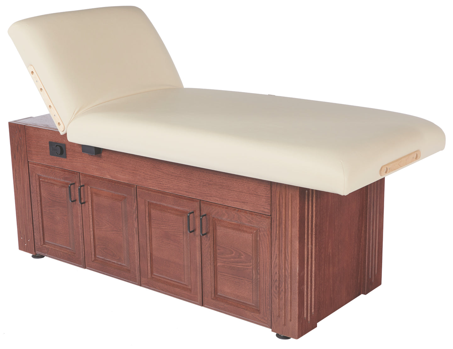 Signature Series by Custom Craftworks - M100 Lift Back Electric Lift Massage Table - Superb Massage Tables