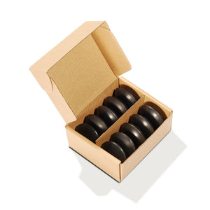 MT Massage - Malteser Basalt Massage Hot Stones 10 Pack - Superb Massage Tables