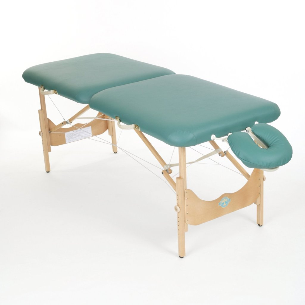 Pisces Pro - New Wave II Hardwood Portable Massage Table - Superb Massage Tables