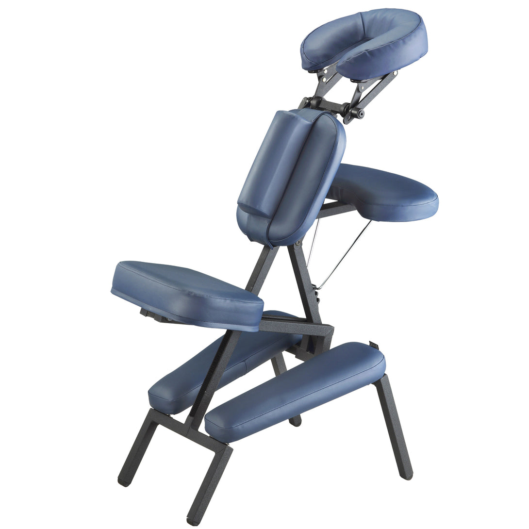 Master Massage - The Professional Portable Massage Chair with Wheeled Case - Superb Massage Tables