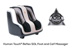 Human Touch - Reflex Sol Foot and Calf Massager - Superb Massage Tables