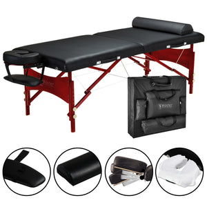 "Master Massage - Roma Portable Massage Table Package 30"" - Superb Massage Tables"