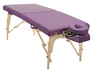 "Custom Craftworks - Simplicity Portable Massage Table 30"" - Superb Massage Tables"