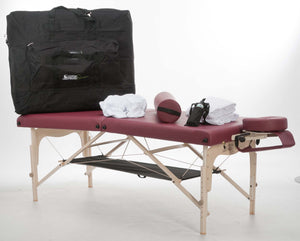Custom Craftworks - Simplicity Practice Essentials Massage Table Kit - Superb Massage Tables