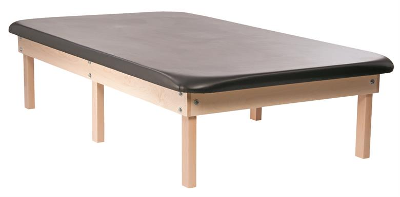 PHS Chiropractic - 6 Leg Classic Wood Mat Table - Superb Massage Tables