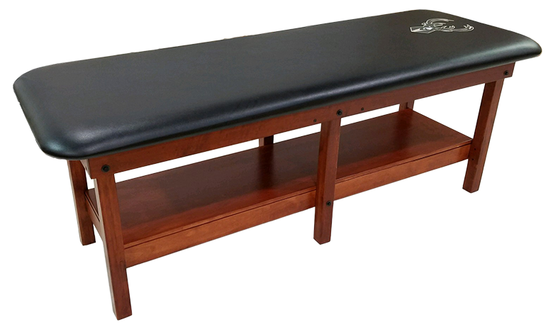 PHS Chiropractic - PRO 6 Leg Classic Wood Treatment Table - Superb Massage Tables