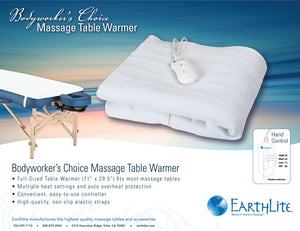 Earthlite - Bodyworker's Choice Massage Table Warmer - Superb Massage Tables