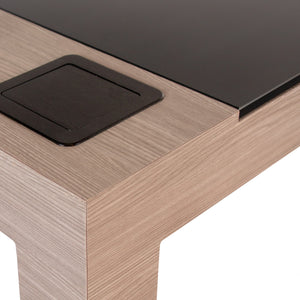 Living Earth Crafts - Madison™ +Studio NailSpace Manicure Table - Superb Massage Tables