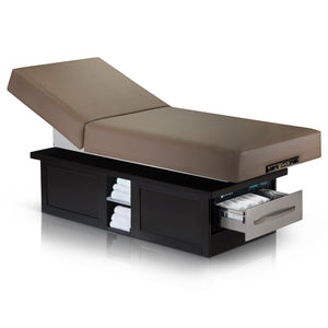 Earthlite - Everest Eclipse Electric Tilt Back Lift Table - Superb Massage Tables