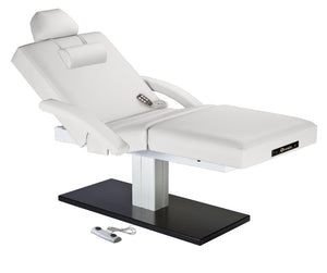 Earthlite - Everest Spa Salon Top Single Pedestal Electric Lift Table - Superb Massage Tables