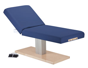 Earthlite - Everest Spa Tilt Single Pedestal Electric Lift Table - Superb Massage Tables