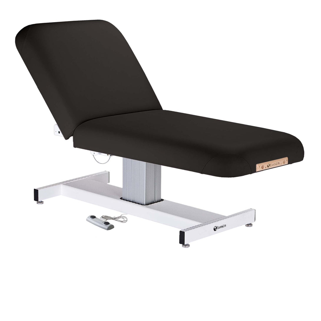 Earthlite - Everest Tilt Single Pedestal Electric Lift Table - Superb Massage Tables