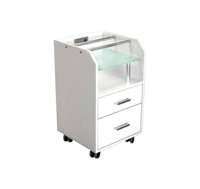 Dermalogic - Glasglow Pedicure Trolley - Superb Massage Tables