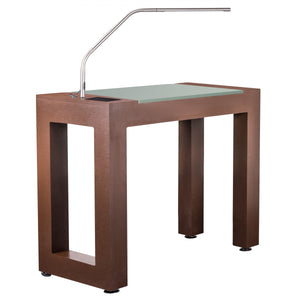 Living Earth Crafts - Madison™ NailSpace Manicure Table - Superb Massage Tables