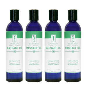 Master Massage - Aromatherapy Massage Oil 4 pack - Superb Massage Tables