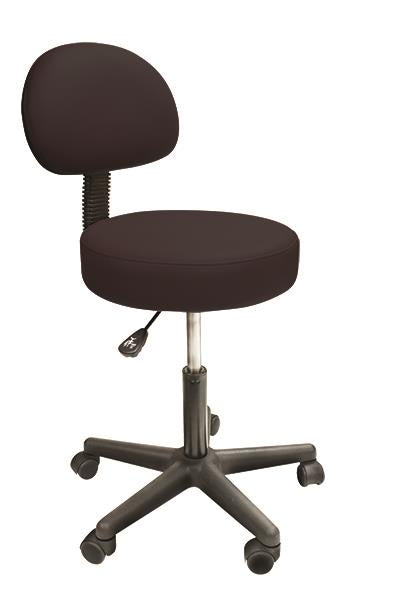 PHS Chiropractic - Solutions Rolling Stool with Back - Superb Massage Tables