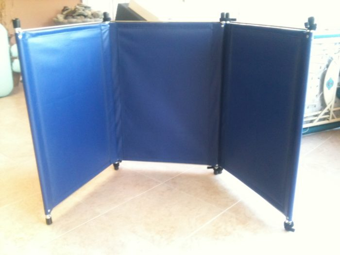 Pisces Pro - Table Top Three Panel Privacy Screen - Superb Massage Tables