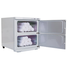 Earthlite - UV Hot Towel Cabinet Large White 120V - Superb Massage Tables