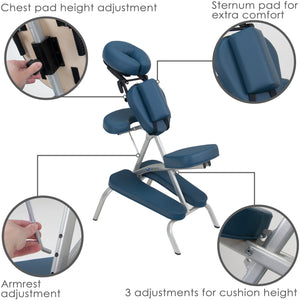 Earthlite - Vortex Portable Massage Chair Package - Superb Massage Tables