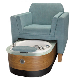 Living Earth Crafts   Wilshire LE Pedicure Spa Chair   Superb Massage Tables