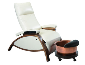 Living Earth Crafts - ZG Dream Lounger Pedicure Chair - Superb Massage Tables